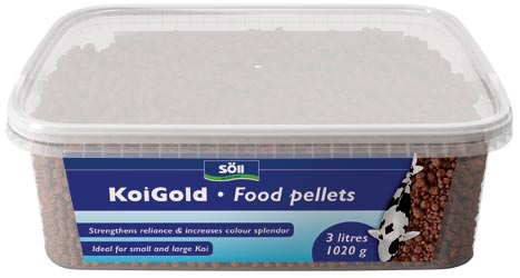 KoiGold Food Pellets en
